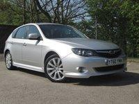 2011 SUBARU IMPREZA 2.0 R C  AWD 5d 150 BHP £3950.00