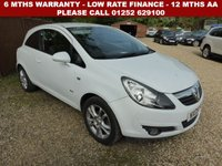 USED 2009 09 VAUXHALL CORSA 1.2 SXI 16V 3d 80 BHP 12 months AA breakdown cover, HPI vehicle check assuring you that your new vehicle will have no registered accident claims reported, or any outstanding finance, Government VOSA Mot mileage check. Because we are an AA approved dealer, all our vehicles come with free AA breakdown cover and a free AA history check.. Low rate finance available. Up to 3 years warranty available.