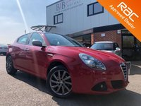 USED 2013 63 ALFA ROMEO GIULIETTA 1.4 TB COLLEZIONE SPECIAL EDITION 5d 120 BHP DAYTIME LED'S | ALFA'S DNA SYSTEM | AUX INPUT | ELECTRIC DOOR MIRRORS | START STOP | AIR CON | ALLOY WHEELS