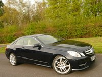 USED 2013 62 MERCEDES-BENZ E CLASS 3.0 E350 CDI BLUEEFFICIENCY SPORT 2d AUTO 265 BHP