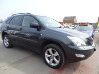 2006 LEXUS RX 3.5 350 SE AUTOMATIC FULL SPEC CLEAN £3495.00
