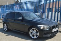 2012 BMW 1 SERIES 2.0 118D M SPORT 5d AUTO 141 BHP £8495.00