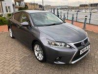 2014 LEXUS CT 1.8 200H ADVANCE 5d AUTO 134 BHP £12995.00