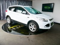 USED 2014 14 FORD KUGA 2.0 TITANIUM X TDCI 5d AUTO 160 BHP £0 DEPOSIT FINANCE AVAILABLE, AIR CONDITIONING, AUTOMATIC HEADLIGHTS, BLUETOOTH CONNECTIVITY, CLIMATE CONTROL, CRUISE CONTROL, DAB RADIO, FORD SYNC WITH VOICE CONTROL, HEATED SEATS, PARKING SENSORS, QUICK CLEAR HEATED WINDSCREEN, START/STOP SYSTEM, STEERING WHEEL CONTROLS, TRIP COMPUTER, USB INPUT