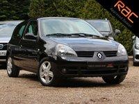 USED 2007 07 RENAULT CLIO 1.1 CAMPUS SPORT 16V 3d 75 BHP