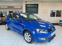 2013 VOLKSWAGEN POLO 1.2 MATCH EDITION 5d 59 BHP £6495.00