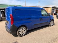 USED 2015 15 FIAT DOBLO 1.3 16V SX MULTIJET MAXI 90 BHP LOW MILEAGE