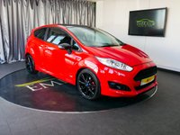 USED 2016 65 FORD FIESTA 1.0 ZETEC S RED EDITION 3d 139 BHP £0 DEPOSIT FINANCE AVAILABLE, AIR CONDITIONING, AUX INPUT, BLUETOOTH CONNECTIVITY, CLIMATE CONTROL, CRUISE CONTROL, DAB RADIO, DAYTIME RUNNING LIGHTS, FORD SYNC WITH VOICE CONTROL, QUICK CLEAR HEATED WINDSCREEN, START/STOP SYSTEM, START/STOP SYSTEM, STEERING WHEEL CONTROLS, TRIP COMPUTER, USB INPUT