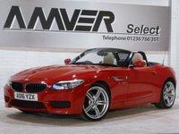USED 2016 16 BMW Z4 2.0 Z4 SDRIVE20I M SPORT ROADSTER 2d AUTO 181 BHP