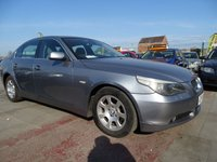 2004 BMW 5 SERIES 2.5 525D SE YEAR MOT DRIVES WELL  £1795.00