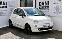 USED 2015 65 FIAT 500 1.2 Cult (s/s) 2dr 1F OWNER*PARKING AID*RED HOOD*