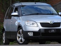 USED 2008 08 SKODA ROOMSTER 1.9 SCOUT TDI 5d 103 BHP 50 MPG A/C DRIVES SUPERB VGC