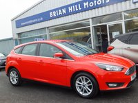 2016 FORD FOCUS 1.0 Eco-Boost ZETEC 5dr (100bhp) £9495.00