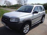 USED 2003 03 LAND ROVER FREELANDER 2.0 TD4 KALAHARI 5d 110 BHP Freelander 2.0 td4 Kalahari, 5 door in silver with black leather interior