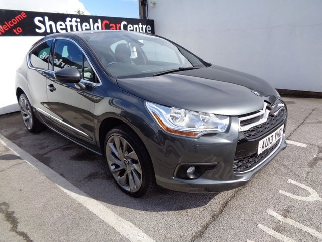 USED 2013 13 CITROEN DS4 1.6 THP DSPORT 5d 197 BHP £150 A Month Heated Seats Satalite Navigation Alloy Wheels Climate And Cruise Control Privacy Glass Half Leather