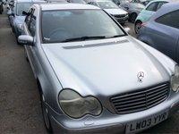 2003 MERCEDES-BENZ C CLASS 2.7 C270 CDI AVANTGARDE SE 4d AUTO 170 BHP £999.00