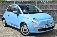 2012 FIAT 500 1.2 LOUNGE 3d 69 BHP £4699.00