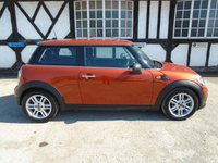 USED 2011 11 MINI HATCH ONE 1.6 ONE 3d 98 BHP