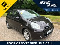 USED 2012 12 NISSAN MICRA 1.2 ACENTA 5d 79 BHP