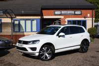 USED 2015 15 VOLKSWAGEN TOUAREG 3.0 V6 R-LINE TDI BLUEMOTION TECHNOLOGY 5d 259 BHP Full service history, Panoramic sunroof, Navigation!