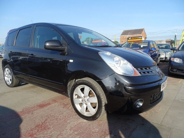 USED 2008 08 NISSAN NOTE 1.6 TEKNA PETROL DRIVES WELL