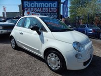 2014 FIAT 500 1.2 POP 3d 69 BHP £4295.00
