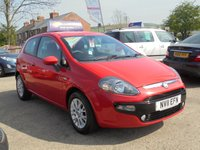 USED 2011 11 FIAT PUNTO EVO 1.2 MYLIFE 3d 68 BHP *1 OWNER* BLUETOOTH* ALLOYS* EXCELLENT