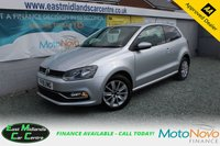 USED 2015 15 VOLKSWAGEN POLO 1.0 SE 3d 60 BHP PETRL SILVER FULL SERVICE HISTORY