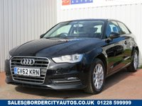 USED 2013 62 AUDI A3 1.6 TDI SE 3d 104 BHP ZERO ROAD TAX
