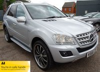 2009 MERCEDES-BENZ M CLASS 3.0 ML350 CDI BLUEEFFICIENCY SPORT 5d AUTO 224 BHP £9990.00