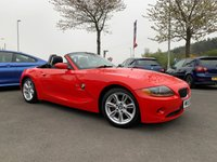 "USED 2005 55 BMW Z4 2.0 Z4 SE ROADSTER 2d 148 BHP FULL SERVICE HISTORY, FULL LEATHER, ELECTRIC ROOF,, 17"" ALLOYS, 12 MONTHS MOT"