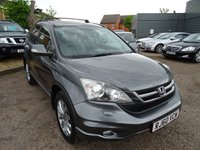 USED 2011 60 HONDA CR-V 2.2 I-DTEC EX 5d 148 BHP LEATHER SAT NAV CRUISE CONTROL PAN ROOF 7 SERVICE STAMPS MOT