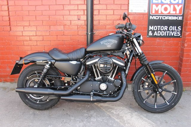 USED 2018 18 HARLEY-DAVIDSON XL 883 N IRON  A Beautiful Specimen ! UK Delivery Available.