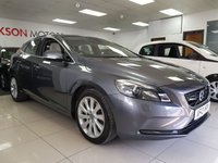 USED 2013 13 VOLVO V40 2.0 D3 SE LUX NAV 5d+HEATED LEATHER+PARKING AID SERVICE HISTORY