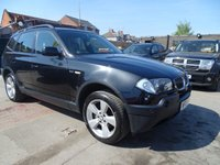 2005 BMW X3 3.0 SPORT 5d AUTOMATIC DRIVES MINT  £2695.00
