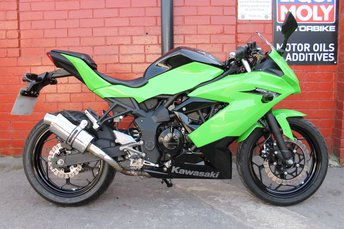 View our KAWASAKI NINJA 250