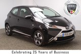 USED 2015 15 TOYOTA AYGO 1.0 VVT-I X-CLUSIV 5DR 69 BHP FREE ROAD TAX FULL SERVICE HISTORY + FREE 12 MONTHS ROAD TAX + REVERSE CAMERA + BLUETOOTH + CRUISE CONTROL + CLIMATE CONTROL + DAB RADIO + MULTI FUNCTION WHEEL + RADIO/CD/AUX/USB + ELECTRIC WINDOWS + XENON HEADLIGHTS + ELECTRIC MIRRORS + 15 INCH ALLOY WHEELS
