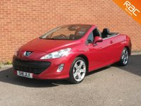 2011 PEUGEOT 308 1.6 CC GT THP 2d 156 BHP FULL BLACK  LEATHER HEATED SEATS £SOLD