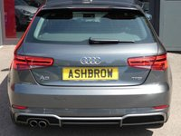 USED 2016 66 AUDI A3 1.4 TFSI S LINE 3d 150 S/S NEW SHAPE, UPGRADE HEATED FRONT SEATS, UPGRADE PARKING SYSTEM REAR, SAT NAV, DAB RADIO, CRUISE CONTROL, AUDI CONNECT & AUDI SMART PHONE READY FOR APPLE CAR PLAY / ANDROID AUTO, LED HEADLIGHTS WITH DAYTIME RUNNING LIGHTS & DIRECTIONAL SWEEPING INDICATORS, BLUETOOTH PHONE & AUDIO STREAMING, WIRLESS LAN CONNECTION (WLAN), AUDI DRIVE SELECT, USB X2 + AUX, SD CARD READER X2 + SIM CARD SLOT, DUAL ZONE CLIMATE CONTROL, FULL SERVICE HISTORY, BALANCE OF AUDI WARRANTY, £20 ROAD TAX