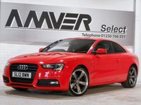 USED 2012 AUDI A5 2.0 TDI BLACK EDITION 2d 177 BHP