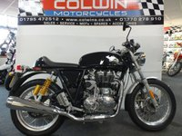 2019 ROYAL ENFIELD CONTINENTAL GT 2019 £4995.00