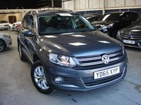 USED 2015 65 VOLKSWAGEN TIGUAN 2.0 MATCH TDI BLUEMOTION TECH 4MOTION DSG 5d AUTO  EURO 6-148 BHP ANY PART EXCHANGE WELCOME, COUNTRY WIDE DELIVERY ARRANGED, HUGE SPEC