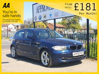 2010 BMW 1 SERIES 2.0 118D SPORT 5D AUTOMATIC AUTO CREAM LEATHER M £5495.00