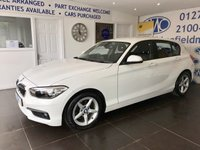 2015 BMW 1 SERIES 1.5 116D ED PLUS 5d 114 BHP £10000.00