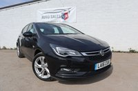 USED 2016 16 VAUXHALL ASTRA 1.4 SRI S/S 5d AUTO 148 BHP ONLY 21500 MILES