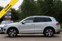 USED 2016 65 VOLKSWAGEN TOUAREG 3.0 V6 R-LINE TDI BLUEMOTION TECHNOLOGY 5d AUTO 259 BHP FREE 6 MONTHS AA WARRANTY PANORAMIC ROOF SATELLITE NAVIGATION
