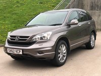 USED 2012 62 HONDA CR-V 2.2 I-DTEC EX 5d 148 BHP NAVIGATION SYSTEM * FULL LEATHER TRIM * PAN ROOF * PARKING AID *1 OWNER FROM NEW * FULL YEAR MOT *