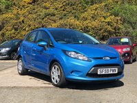 USED 2009 59 FORD FIESTA 1.4 STYLE PLUS 5d AUTO 96 BHP * FULL SERVICE RECORD + AIR CONDITIONING + AUTOMATIC
