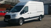 2014 FORD TRANSIT 2.2 350 H/R P/V 1d 124 BHP LWB HI ROOF  NO VAT TO ADD 1 OWNER FULL VOSA PRINT OUT 12 MONTHS WARRANTY COVER  £8690.00