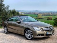 2009 MERCEDES-BENZ E CLASS 3.0 E350 CDI BLUEEFFICIENCY SE 2d AUTO 231 BHP £7885.00